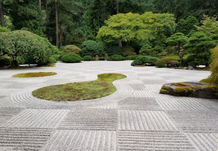 Water element in Asian garden - Blessing Landscapes