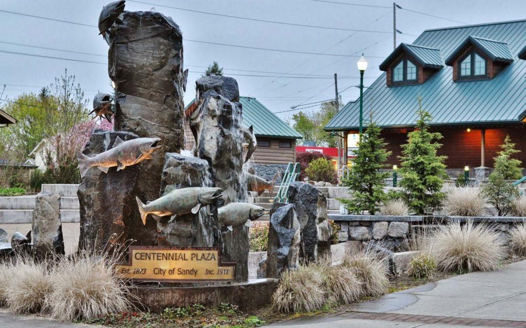 City of Sandy Fountain