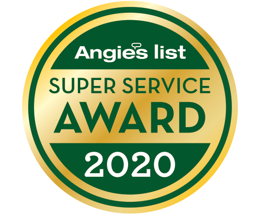 Blessing Landscapes wins Angie's List 2020 Super Service Award